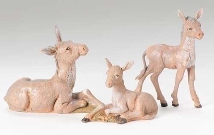3piece st 5 in donkey family 51533 FS
