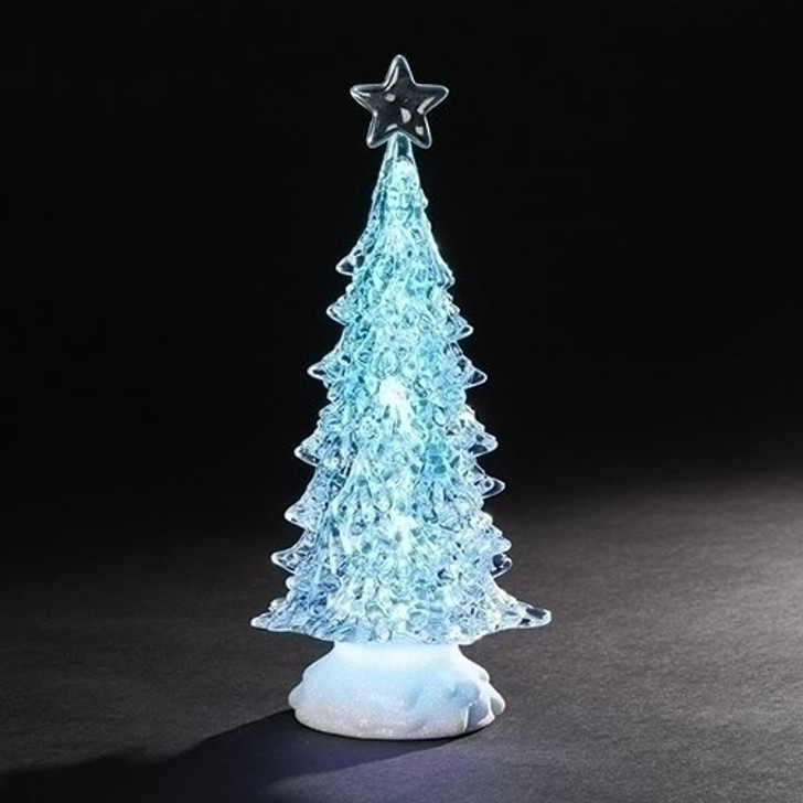 10 In H LED TRI-COLOR TREE W-STAR 131134