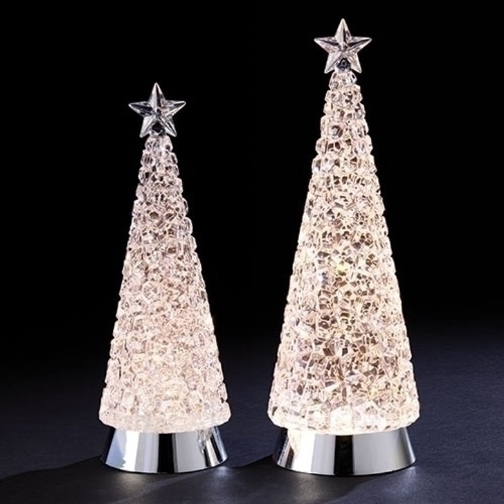 12-14 In CUBE SWIRL TREES 2PC ST 132279