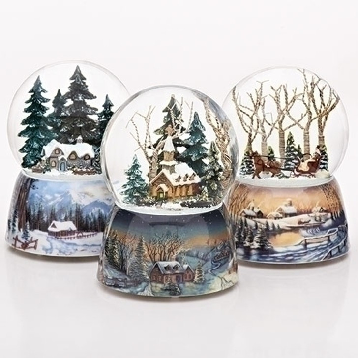 4 In H MUSICAL WINTER DOME 3 ASST 23958