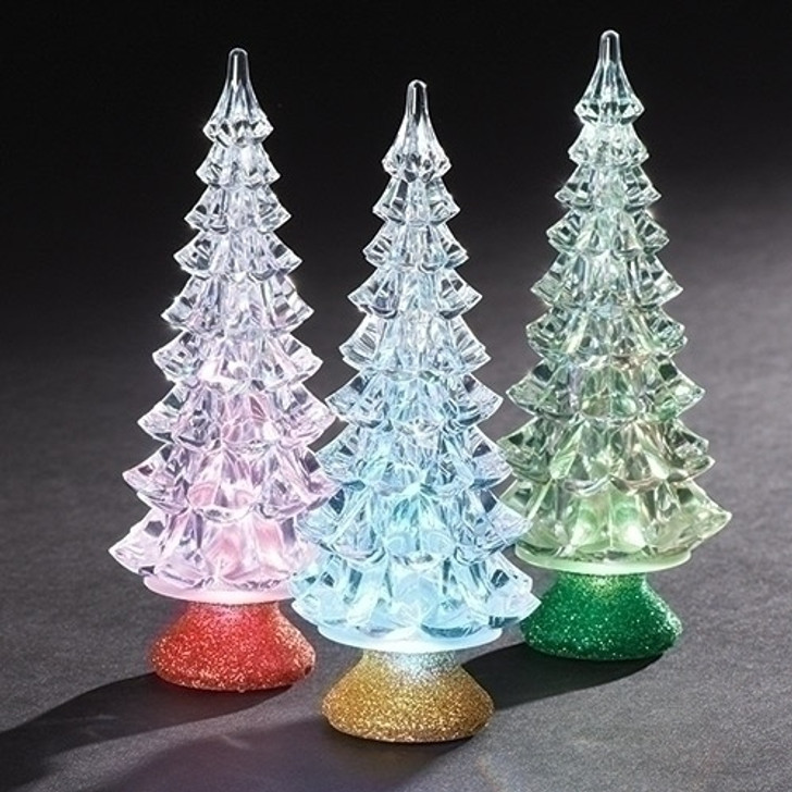 6.5 In H LED TRICOLOR TREE W-BASE 30096