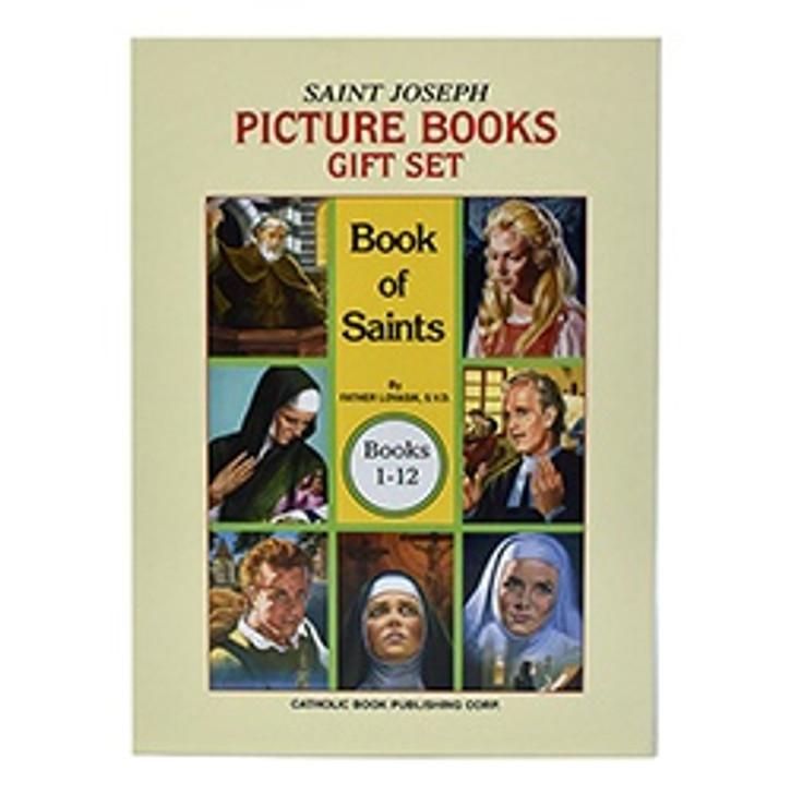 St. Joseph Picture Book of Saints Gift Set - set of 12
