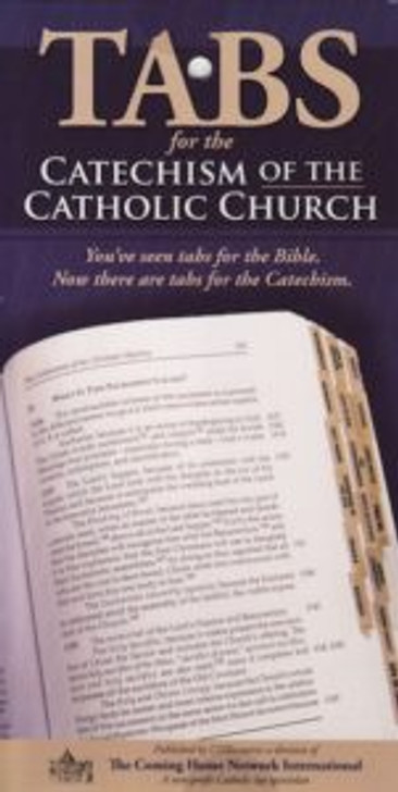 Catechism Tabs Gold