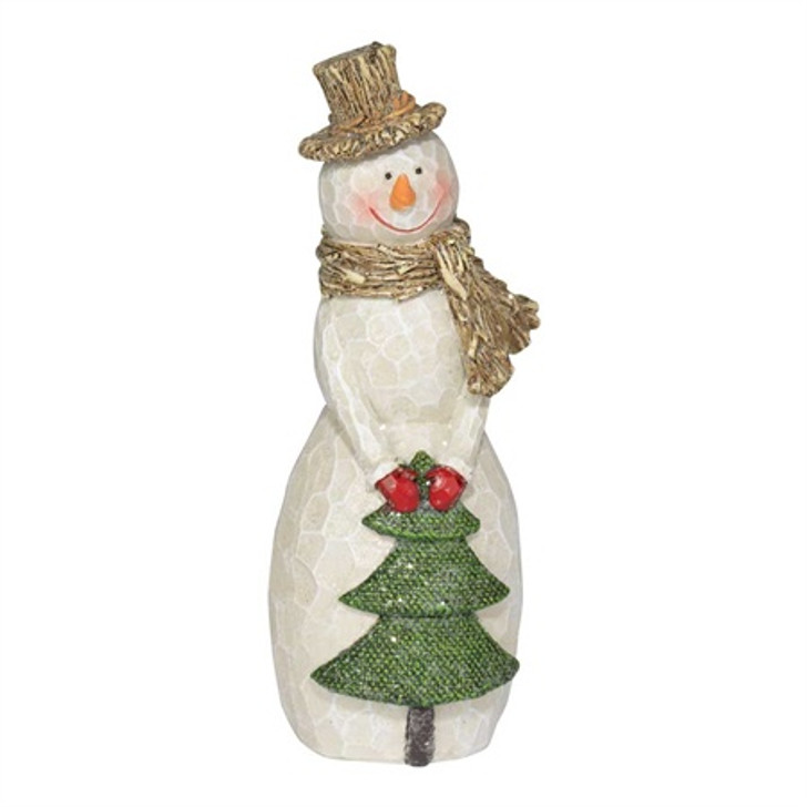 Snowman with Tree - 6 H CHFIG-221