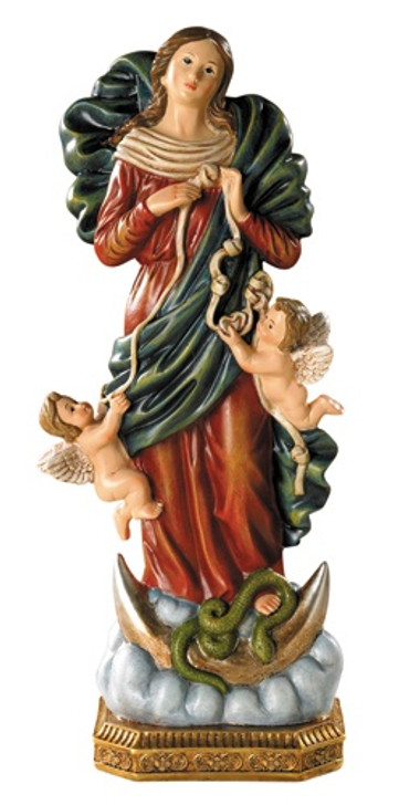 8in Mary, Untier of Knots Statue VC698