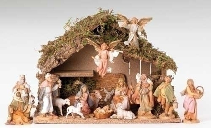 5 IN SCALE 16 FIGURE NATIVITY 54492