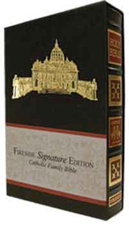 Fireside Signature Edition - Catholic NABRE (Black) - Gold
