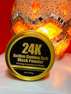 Whitening moisturising gold mask