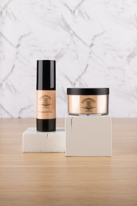 Liquid & powder mineral foundation - Duo set