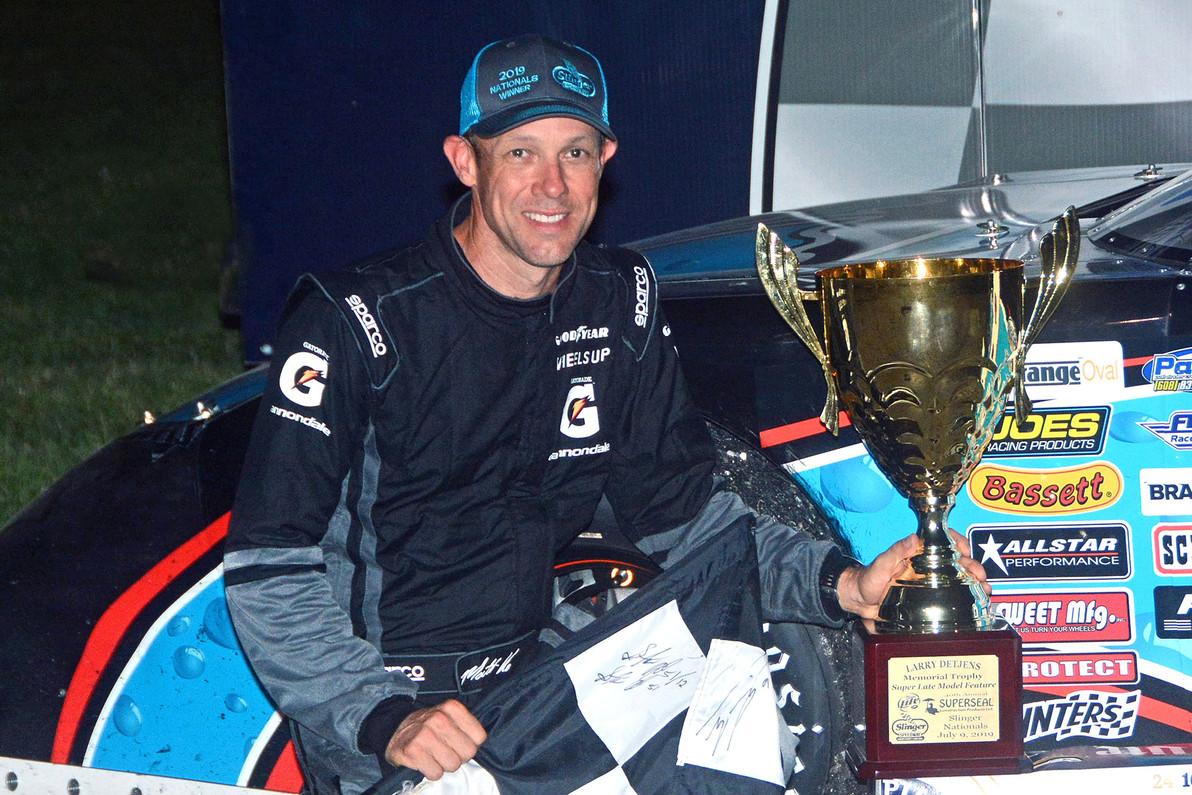Former NASCAR Champ Claims 40th Annual Slinger Nationals