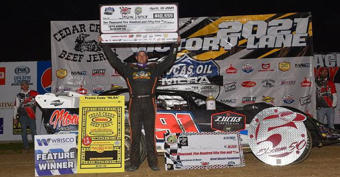 California Racer Finally Breaks Through With Midwestern Dirt Late Model Win