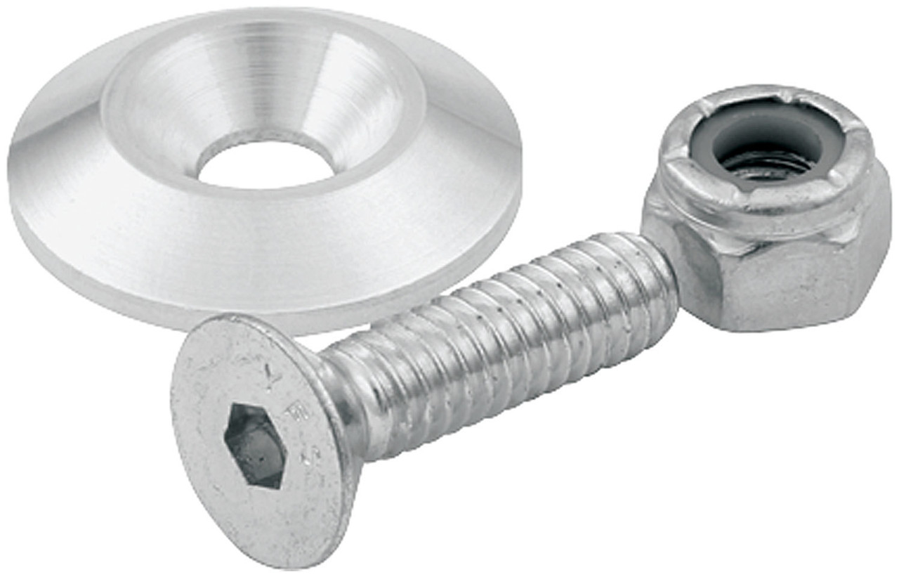 Bolt And Washer >> Countersunk Bolts 1 4in W 1in Washer 10pk All18632