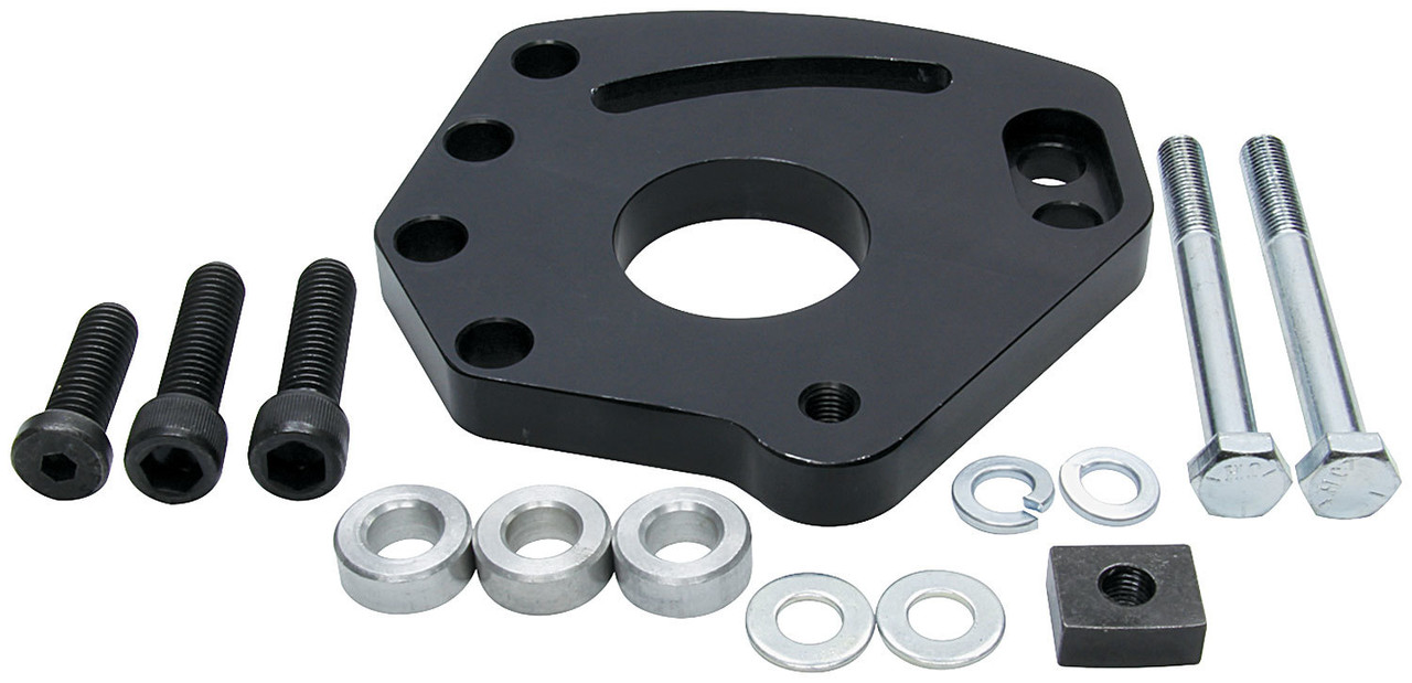 Allstar ALL48242 Block Mount Style Power Steering Kit for Small Block Chevy