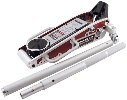 Aluminum Racing Jack 3 Pump Red ALL10422 Allstar Performance