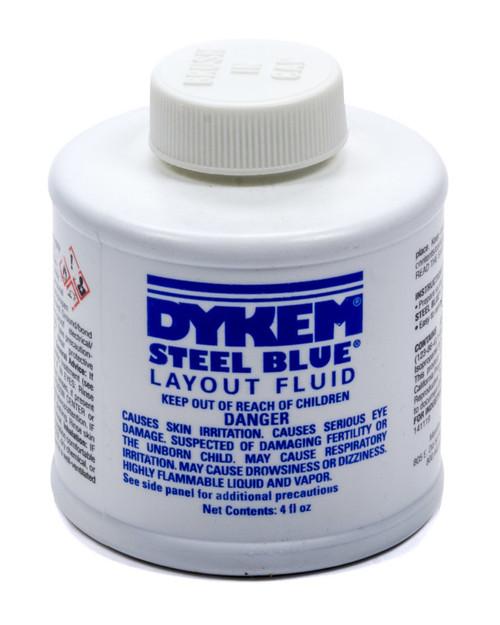 Dykem Layout Fluid 4oz Brush in Cap ALL12070 Allstar Performance