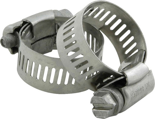 Hose Clamps 1in OD 2pk No.10 ALL18332 Allstar Performance