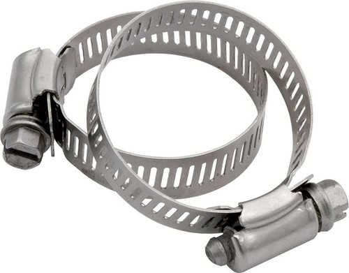 Hose Clamps 2in OD 2pk No.24 ALL18334 Allstar Performance