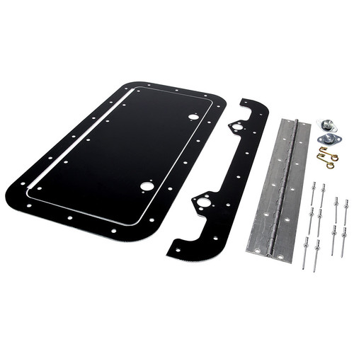 Access Panel Kit Black 6in x 14in ALL18542 Allstar Performance