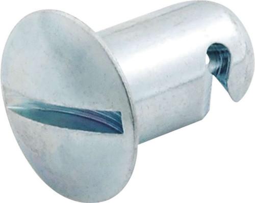 Quick Turn Oval Head Fasteners 7/16 .550in 10pk Steel ALL19230 Allstar Performance