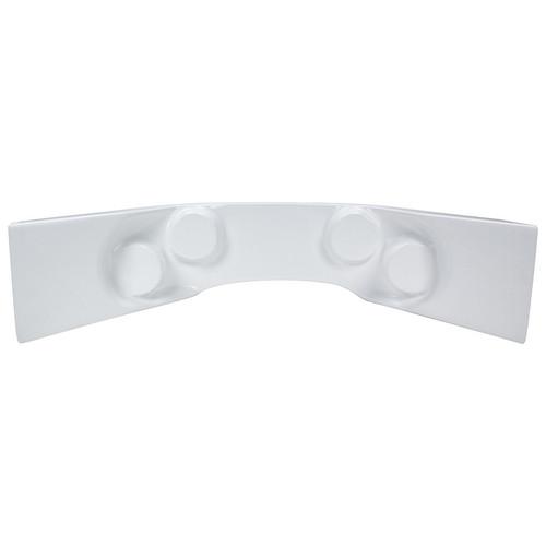 Fiberglass Curved Dash Panel White ALL23242 Allstar Performance