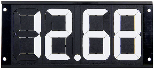 Dial-In Board 4 Digit w/ Mounting Holes ALL23292 Allstar Performance