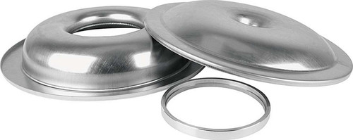 Lightweight 14in Air Cleaner Kit Plain No Element 1/2in Spacer ALL25900 Allstar Performance