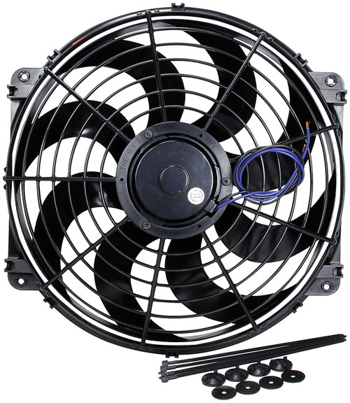 Electric Fan 16in Curved Blade ALL30076 Allstar Performance