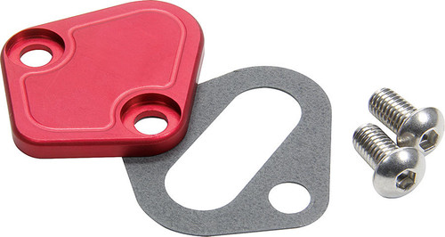 BBC F/P Block Off Plate Red ALL40305 Allstar Performance