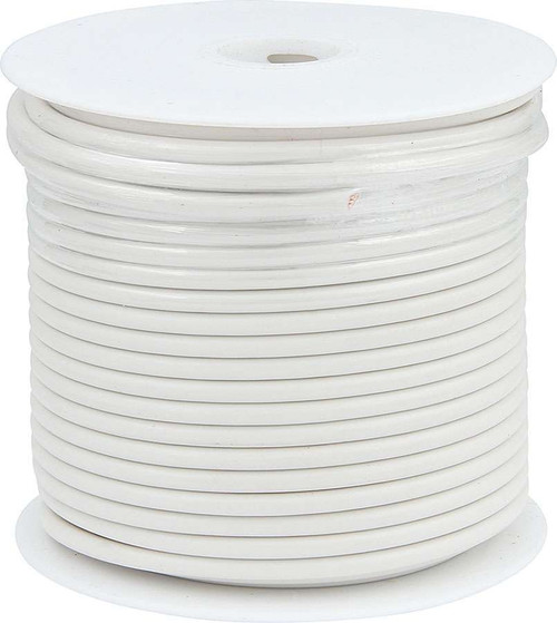 10 AWG White Primary Wire 75ft ALL76577 Allstar Performance