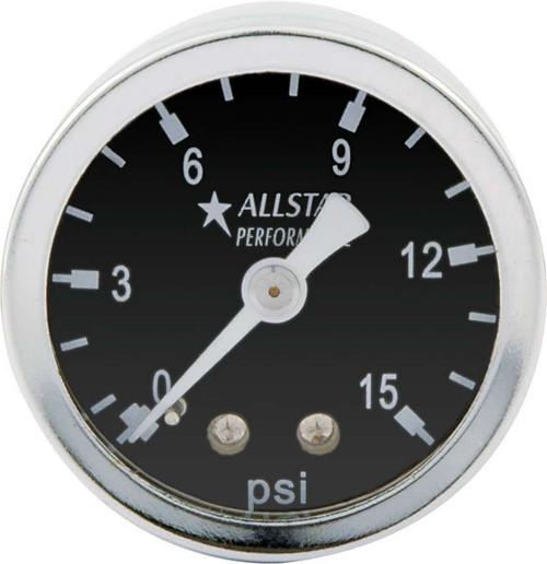 1.5in Gauge 0-15 PSI Dry Type ALL80210 Allstar Performance