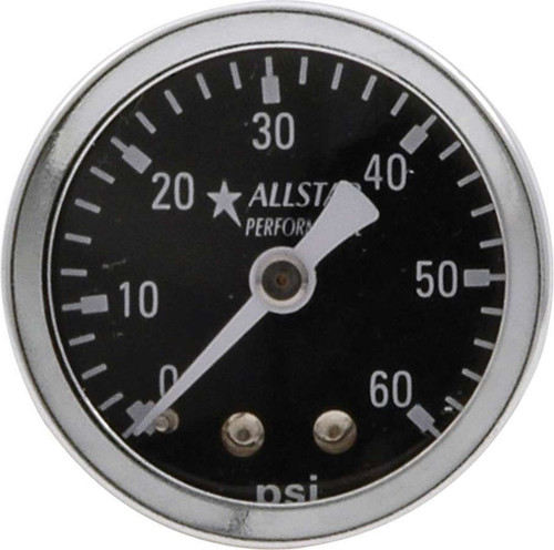 1.5in Gauge 0-60 PSI Dry Type ALL80214 Allstar Performance
