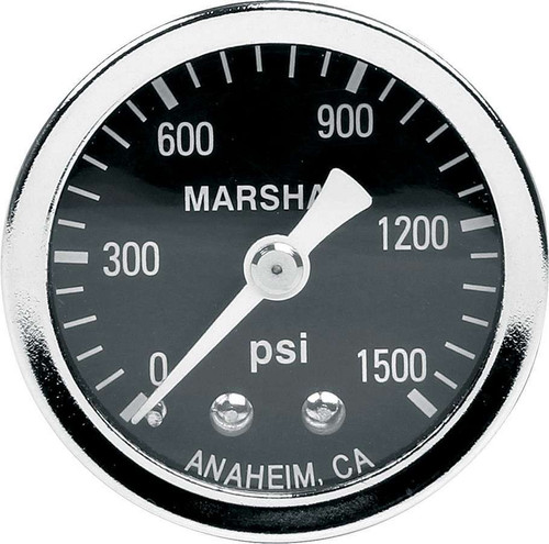 1.5in Gauge 0-1500PSI Dry Type ALL80218 Allstar Performance
