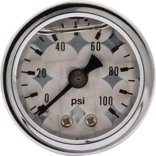 1.5in Gauge 0-100 PSI Turned Face Liq Filled ALL80226 Allstar Performance