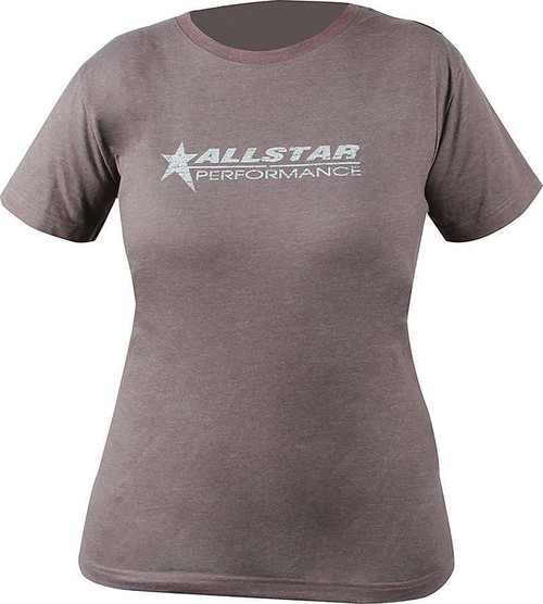 Allstar ALL99906XXXL Gray XXX-Large T-Shirt with Allstar Logo Front and Back
