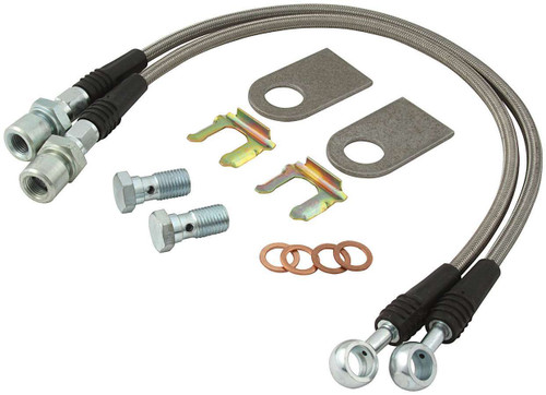 DOT Brake Hose Kit Large GM ALL42033 Allstar Performance