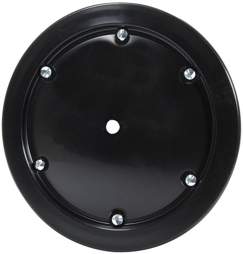 Universal Wheel Cover Black 6 Q-Turn Fasteners ALL44246 Allstar Performance