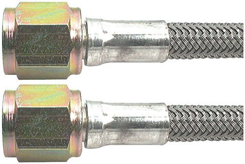 Allstar Performance ALL48366 30 Coated Braided Brake Line with Size-3 Hose and Size-3 End