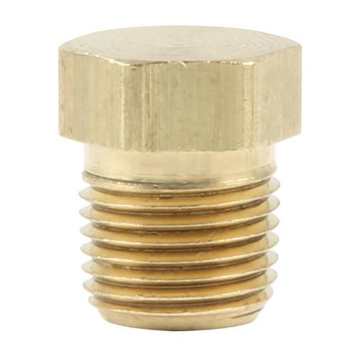 1/8 NPT Brass Plugs 4pk  ALL50182 Allstar Performance