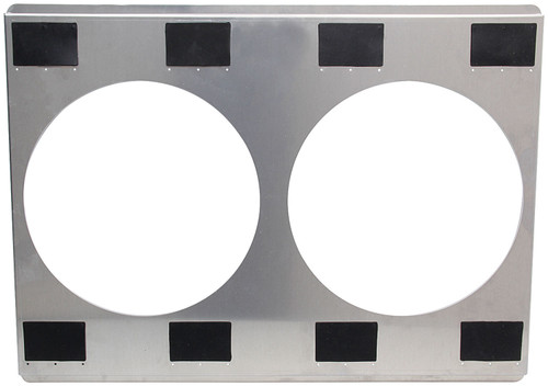 Aluminum Fan Shroud 25-3/4x18-3/4 Dual 12 ALL30064 Allstar Performance
