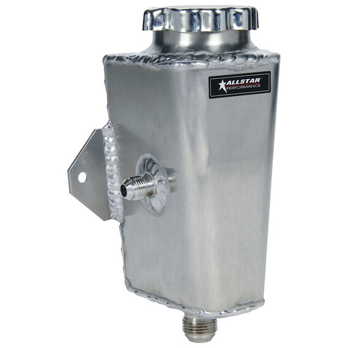 Allstar ALL36120 8-1//2 Tall x 3-1//2 Diameter Aluminum Power Steering Tank