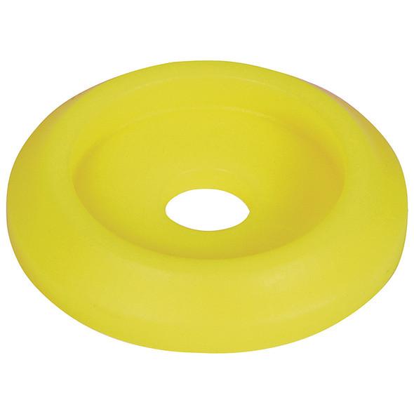 Body Bolt Washer Plastic Fluorescent Yellow 10pk ALL18853 Allstar Performance