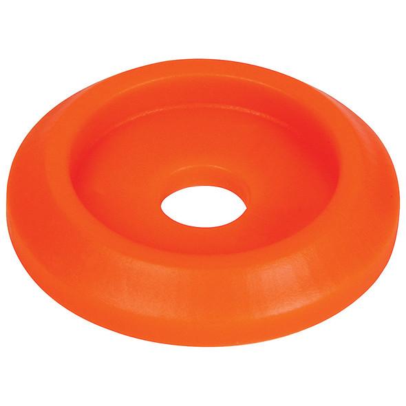 Body Bolt Washer Plastic Fluorescent Orange 50pk ALL18854-50 Allstar Performance