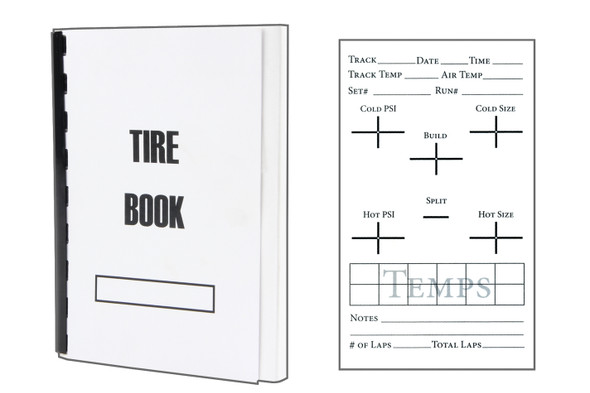 Asphalt Tire Book ALL041 Allstar Performance