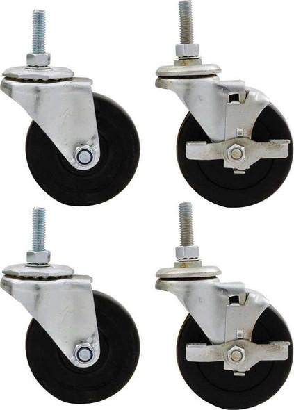 Wheel Kit 3in Standard Duty Locking ALL10163 Allstar Performance