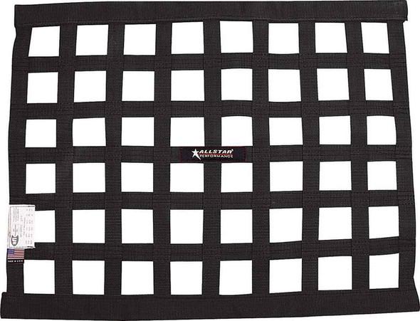 Window Net Border Style 18 x 24 SFI Black ALL10285 Allstar Performance