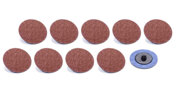 Twist Lock Sanding Disc 2in 80 Grit 10pk ALL12106 Allstar Performance