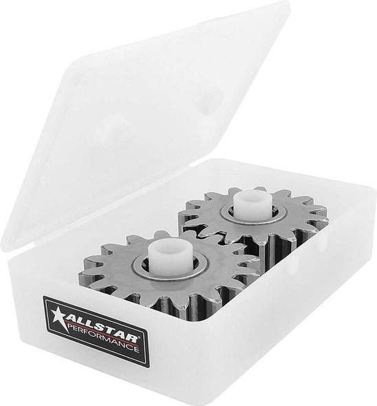Quick Change Gear Tote Plastic White 10pk ALL14350-10 Allstar Performance