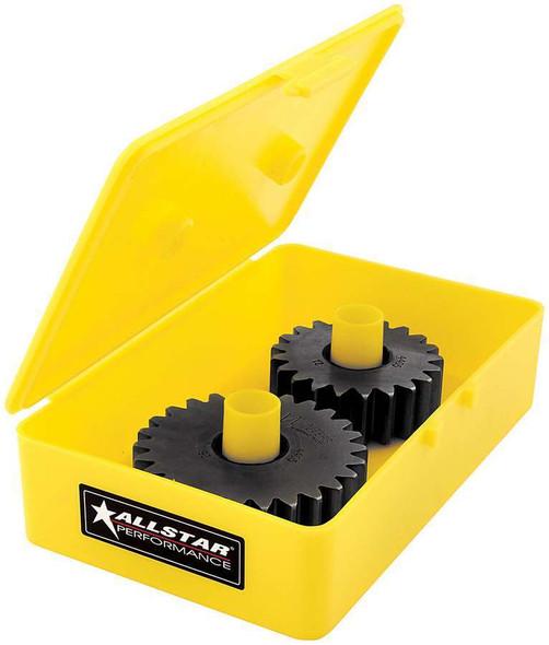 Quick Change Gear Tote Plastic Yellow Midget ALL14352 Allstar Performance