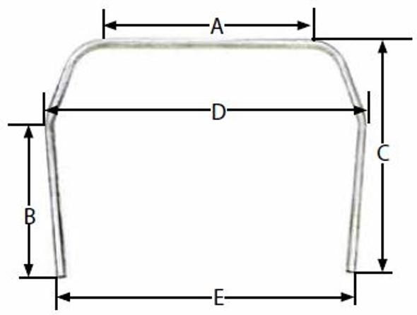10pt Roll Cage Kit for 1978-88 G-Body ALL22628 Allstar Performance