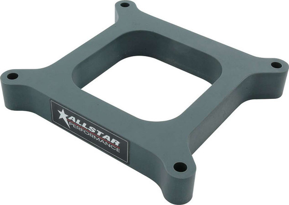 Carb Spacer 4150 Open 1.00in ALL25981 Allstar Performance